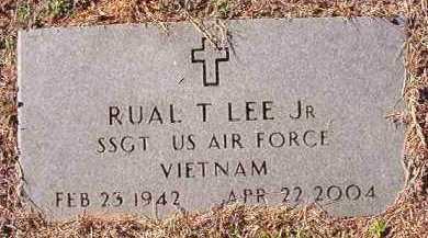 LEE, JR (VETERAN VIET), RUAL T - Dallas County, Arkansas | RUAL T LEE, JR (VETERAN VIET) - Arkansas Gravestone Photos