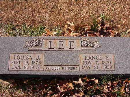 LEE, RANCE F - Dallas County, Arkansas | RANCE F LEE - Arkansas Gravestone Photos