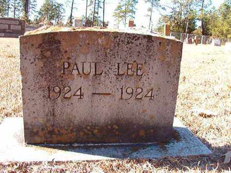 LEE, PAUL - Dallas County, Arkansas | PAUL LEE - Arkansas Gravestone Photos