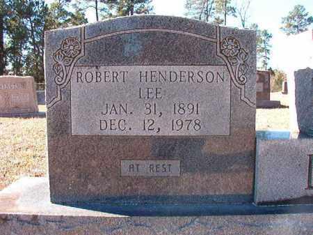 LEE, ROBERT HENDERSON - Dallas County, Arkansas   ROBERT HENDERSON LEE - Arkansas Gravestone Photos