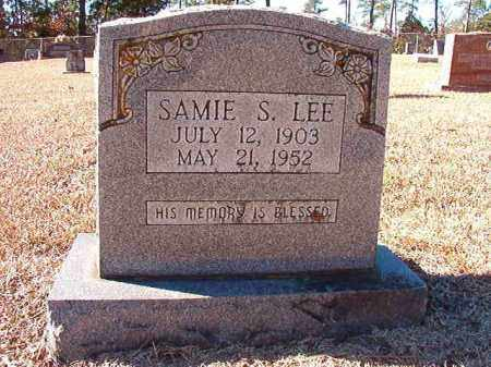 LEE, SAMIE S - Dallas County, Arkansas   SAMIE S LEE - Arkansas Gravestone Photos