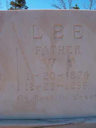 LEE, W T - Dallas County, Arkansas   W T LEE - Arkansas Gravestone Photos