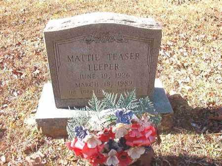 LEEPER, MATTIE - Dallas County, Arkansas | MATTIE LEEPER - Arkansas Gravestone Photos