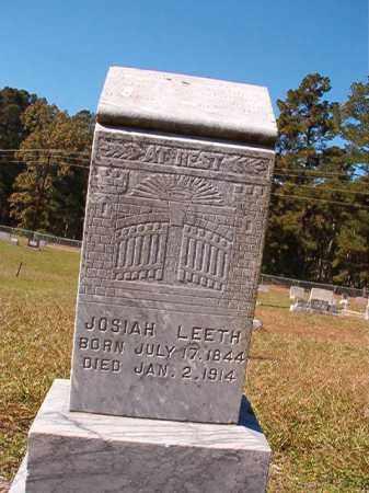 LEETH, JOSIAH - Dallas County, Arkansas | JOSIAH LEETH - Arkansas Gravestone Photos