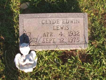 LEWIS, CLYDE EDWIN - Dallas County, Arkansas | CLYDE EDWIN LEWIS - Arkansas Gravestone Photos