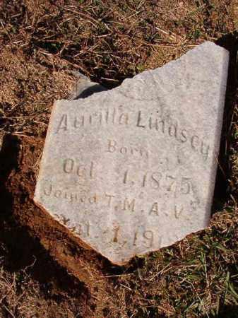 LINDSEY, AURILLA - Dallas County, Arkansas | AURILLA LINDSEY - Arkansas Gravestone Photos