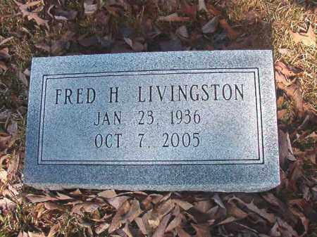 LIVINGSTON, FRED H - Dallas County, Arkansas | FRED H LIVINGSTON - Arkansas Gravestone Photos