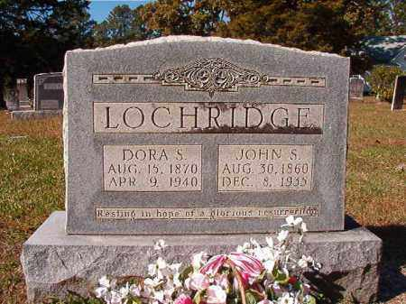 LOCHRIDGE, DORA S - Dallas County, Arkansas | DORA S LOCHRIDGE - Arkansas Gravestone Photos