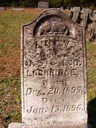 LOCHRIDGE, LUCY - Dallas County, Arkansas   LUCY LOCHRIDGE - Arkansas Gravestone Photos