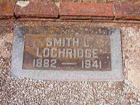 LOCHRIDGE, SMITH L - Dallas County, Arkansas   SMITH L LOCHRIDGE - Arkansas Gravestone Photos