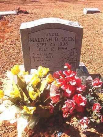 LOCK, MALIYAH D - Dallas County, Arkansas   MALIYAH D LOCK - Arkansas Gravestone Photos