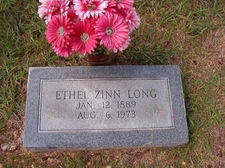 ZINN LONG, ETHEL - Dallas County, Arkansas | ETHEL ZINN LONG - Arkansas Gravestone Photos