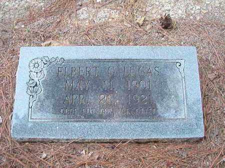 LUCAS, ELBERT G - Dallas County, Arkansas | ELBERT G LUCAS - Arkansas Gravestone Photos