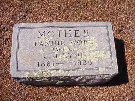 LYNN, FANNIE - Dallas County, Arkansas | FANNIE LYNN - Arkansas Gravestone Photos