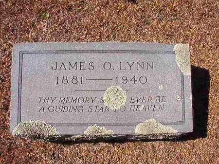 LYNN, JAMES O - Dallas County, Arkansas | JAMES O LYNN - Arkansas Gravestone Photos