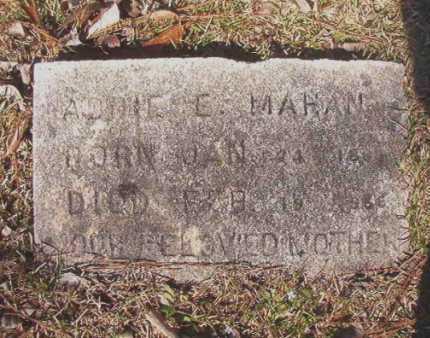MAHAN, ADDIE E - Dallas County, Arkansas | ADDIE E MAHAN - Arkansas Gravestone Photos
