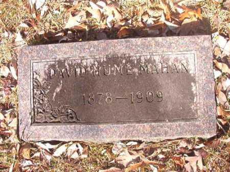MAHAN, DAVID HUME - Dallas County, Arkansas | DAVID HUME MAHAN - Arkansas Gravestone Photos