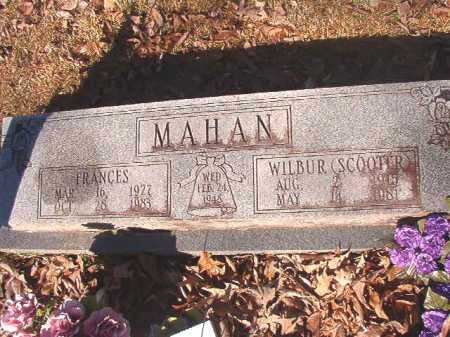 MAHAN, WILBUR HARVEY(SCOOTER) - Dallas County, Arkansas | WILBUR HARVEY(SCOOTER) MAHAN - Arkansas Gravestone Photos