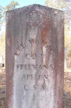 MAHAN (VETERAN CSA), LEE - Dallas County, Arkansas | LEE MAHAN (VETERAN CSA) - Arkansas Gravestone Photos