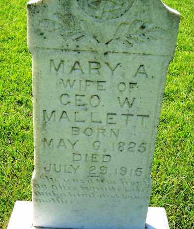 SMITH MALLETT, MARY ANN - Dallas County, Arkansas | MARY ANN SMITH MALLETT - Arkansas Gravestone Photos