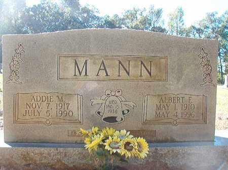 MANN, ALBERT F - Dallas County, Arkansas | ALBERT F MANN - Arkansas Gravestone Photos