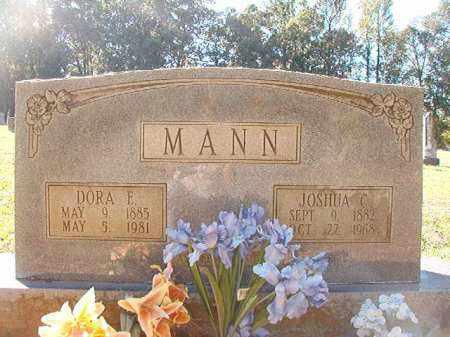 MANN, DORA E - Dallas County, Arkansas   DORA E MANN - Arkansas Gravestone Photos