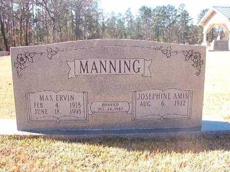 MANNING, MAX ERVIN - Dallas County, Arkansas | MAX ERVIN MANNING - Arkansas Gravestone Photos