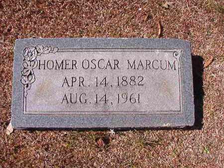 MARCUM, HOMER OSCAR - Dallas County, Arkansas | HOMER OSCAR MARCUM - Arkansas Gravestone Photos