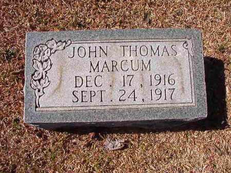 MARCUM, JOHN THOMAS - Dallas County, Arkansas | JOHN THOMAS MARCUM - Arkansas Gravestone Photos