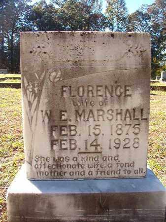 MARSHALL, FLORENCE - Dallas County, Arkansas | FLORENCE MARSHALL - Arkansas Gravestone Photos