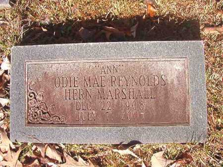 "REYNOLDS HERN MARSHALL, ODIE MAE ""ANN"" - Dallas County, Arkansas 