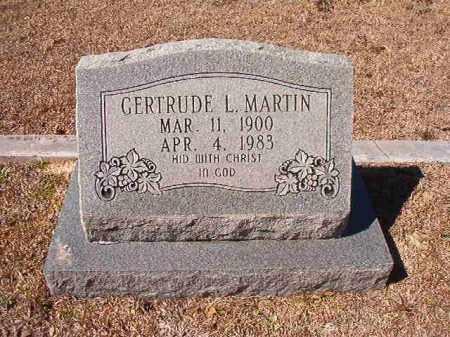MARTIN, GERTRUDE L - Dallas County, Arkansas | GERTRUDE L MARTIN - Arkansas Gravestone Photos