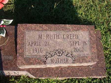 CREED MARTIN, M RUTH - Dallas County, Arkansas   M RUTH CREED MARTIN - Arkansas Gravestone Photos