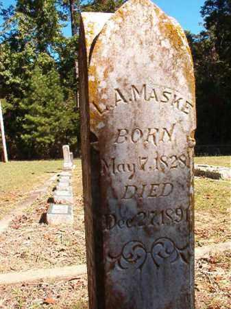 MASKE, L A - Dallas County, Arkansas | L A MASKE - Arkansas Gravestone Photos