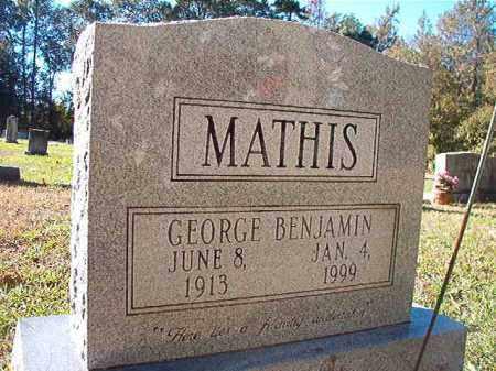 MATHIS, GEORGE BENJAMIN - Dallas County, Arkansas | GEORGE BENJAMIN MATHIS - Arkansas Gravestone Photos