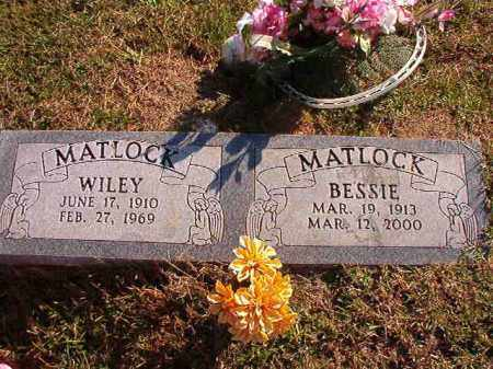 MATLOCK, BESSIE - Dallas County, Arkansas | BESSIE MATLOCK - Arkansas Gravestone Photos