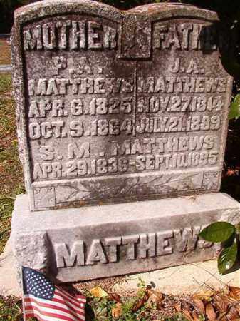 MATTHEWS, S M - Dallas County, Arkansas | S M MATTHEWS - Arkansas Gravestone Photos