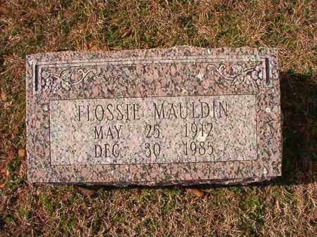 MAULDIN, FLOSSIE - Dallas County, Arkansas | FLOSSIE MAULDIN - Arkansas Gravestone Photos