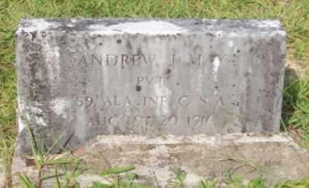 MAY (VETERAN CSA), ANDREW J - Dallas County, Arkansas | ANDREW J MAY (VETERAN CSA) - Arkansas Gravestone Photos