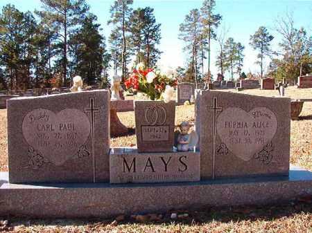 MAYS, CARL PAUL - Dallas County, Arkansas | CARL PAUL MAYS - Arkansas Gravestone Photos