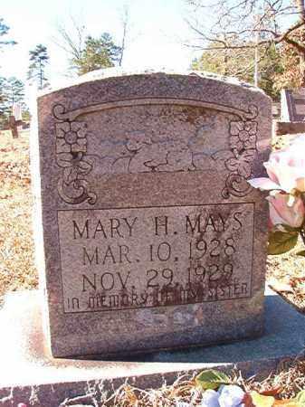 MAYS, MARY H - Dallas County, Arkansas   MARY H MAYS - Arkansas Gravestone Photos