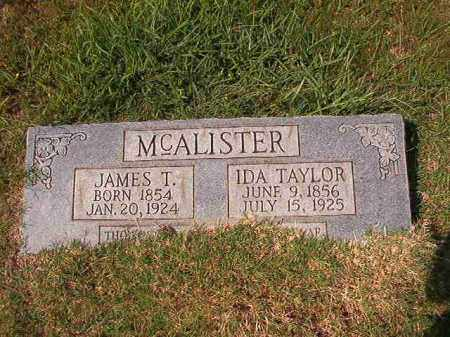MCALISTER, IDA - Dallas County, Arkansas | IDA MCALISTER - Arkansas Gravestone Photos