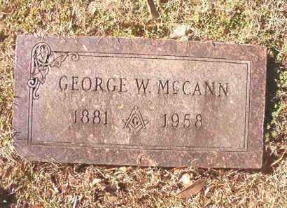 MCCANN, GEORGE W - Dallas County, Arkansas | GEORGE W MCCANN - Arkansas Gravestone Photos
