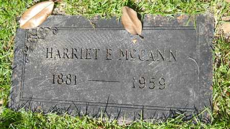 MCCANN, HARRIET E - Dallas County, Arkansas | HARRIET E MCCANN - Arkansas Gravestone Photos