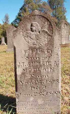 MCCLAIN, FRED - Dallas County, Arkansas | FRED MCCLAIN - Arkansas Gravestone Photos