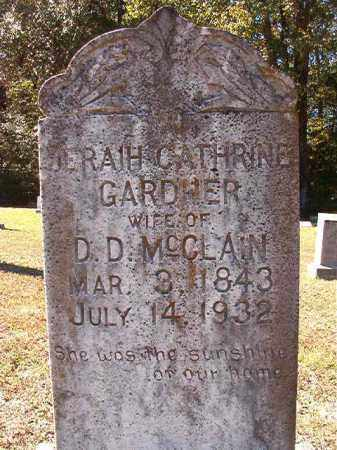 GARDNER MCCLAIN, JERAIH CATHRINE - Dallas County, Arkansas | JERAIH CATHRINE GARDNER MCCLAIN - Arkansas Gravestone Photos