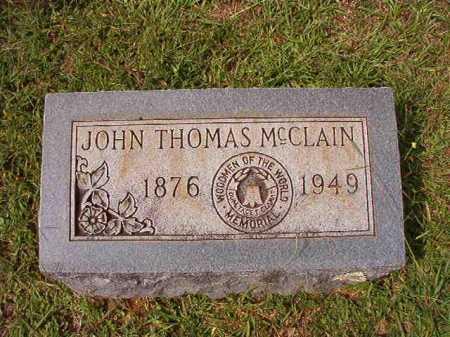 MCCLAIN, JOHN THOMAS - Dallas County, Arkansas   JOHN THOMAS MCCLAIN - Arkansas Gravestone Photos