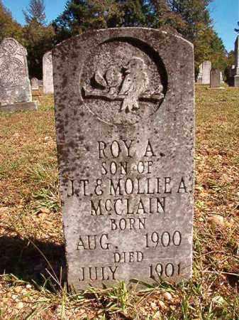 MCCLAIN, ROY A - Dallas County, Arkansas | ROY A MCCLAIN - Arkansas Gravestone Photos