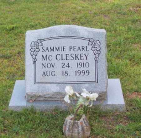 WOMBLE MCCLESKEY, SAMMIE PEARL - Dallas County, Arkansas | SAMMIE PEARL WOMBLE MCCLESKEY - Arkansas Gravestone Photos