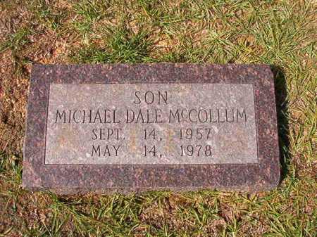 MCCOLLUM, MICHAEL DALE - Dallas County, Arkansas | MICHAEL DALE MCCOLLUM - Arkansas Gravestone Photos